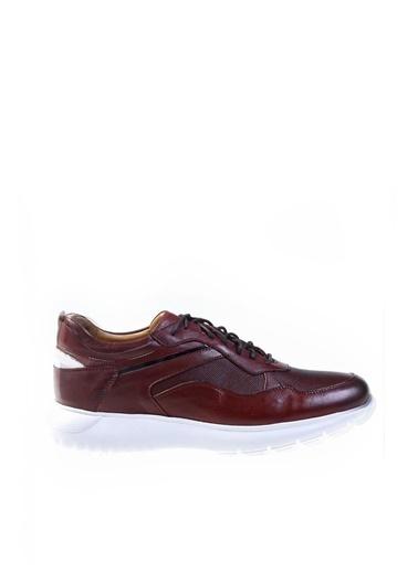 Dr.Flexer 020201 HakıkıDerıErkek Comfort Ayakkabı Bordo Bordo